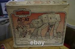 Vintage Star Wars Esb Kenner At-at Walker Line Drawn Box