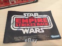 Vintage Star Wars Esb Rouge Six Pack Kenner Baggie Boîte D'origine Et Catalogue Seulement