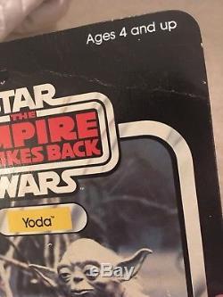 Vintage Star Wars Esb Yoda Kenner 32 Arrière Moc Serpent Orange