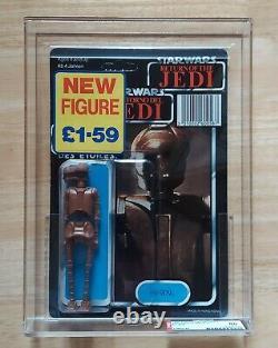 Vintage Star Wars Ev-9d9 Afa 80 75/80/85 Palitoy Tri-logo 70 Buble De Retour