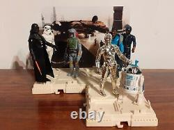 Vintage Star Wars Figure The Empire Strikes Back Mail Away Display Arena