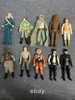 Vintage Star Wars Figures Bundle Job Lot Original Kenner 68 Figures