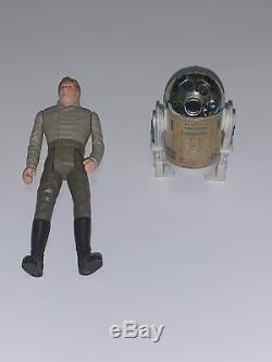 Vintage Star Wars Figures Full Last 17 Inc R2 Pop Up Et Visage De Yak