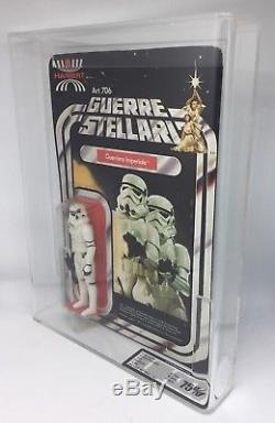 Vintage Star Wars Harbert Original Stormtrooper 12 Retour Moc Afa / Ukg 75