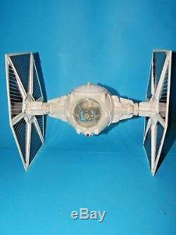 Vintage Star Wars Impérial Tie Fighter Travail Light & Sound Avec Boîte