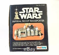 Vintage Star Wars Imperial Troop Transporter Mib Complet Palitoy