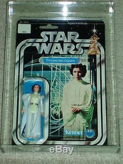 Vintage Star Wars Kenner 1978 Afa 80 Princesse Leia Organa Anh 12 Retour Moc Clr Bb