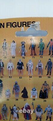 Vintage Star Wars Kenner Boba Fett Moc Rotj 77 Retour Taiwan 1983