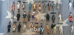 Vintage Star Wars Kenner Figures 96 Full Set Empire Jedi Dernier 17 Bundle Job Lot