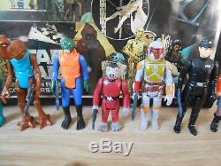 Vintage Star Wars Kenner Lot Premier 12-21 Collectors Case Complete 1977