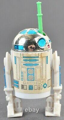 Vintage Star Wars Kenner Potf R2-d2 Les 17 Derniers Saber Pop-up Complete No Repo Rare
