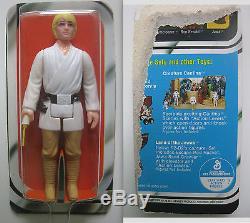 Vintage Star Wars Kenner Scellé 21-back Bulle Luke Skywalker Figurine