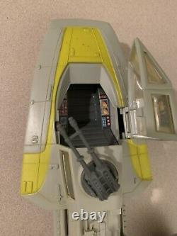 Vintage Star Wars Kenner Y-wing Fighter Vehicle 1983 Travail Électronique D'occasion
