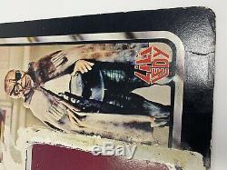 Vintage Star Wars LILI Ledy Prune Face Cardback Seulement Rare Htf
