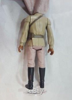 Vintage Star Wars Lando Calrissian General Pilot Dernier 17 Potf 1985 Complet