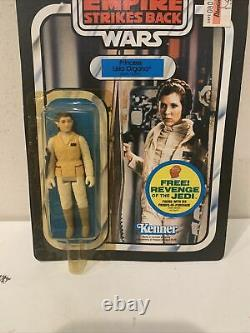 Vintage Star Wars Leia Hoth Outfit 48 Back Moc Kenner Empire Strikes Back
