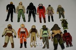 Vintage Star Wars Lot Kenner Véhicules Action Chiffres Manuels D'armes Décalcomanies ++++