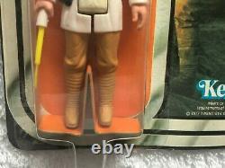 Vintage Star Wars Luke Skywalker 12 Retour Carte 1977 Kenner Excellent État