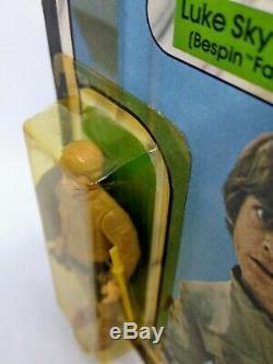 Vintage Star Wars Luke Skywalker Bespin Moc 41 Retour Esb Kenner Erreur D'emballage