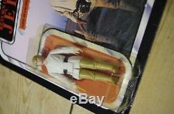 Vintage Star Wars Luke Skywalker Farmboy Palitoy Cardé