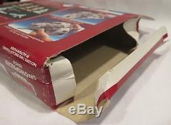 Vintage Star Wars Micro Collection Snowspeeder, Instructions, Boîte, 1982 Rare