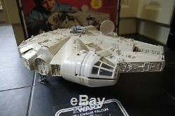 Vintage Star Wars Millenium Falcon Esb Boxed Instructions Palitoy