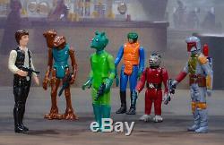 Vintage Star Wars Minty First 21 Chiffres! Total 24 Lot Avec 100% Armes Kenner