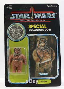 Vintage Star Wars Moc Puissance De La Force Potf Case Fresh Up Romba Ewok Kenner