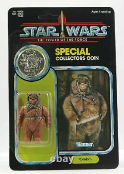 Vintage Star Wars Moc Romba Potf Dernier 17 Superbe Cas Fresh Kenner