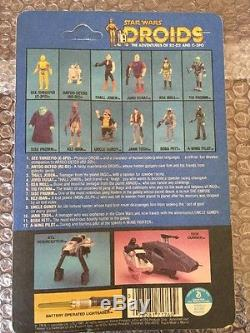 Vintage Star Wars Original Scellé 1985 Droids Tig Fromm Unpunched Moc