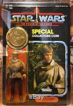 Vintage Star Wars Potf 1985 Les 17 Derniers Luke Skywalker Kenner