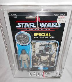 Vintage Star Wars Potf At-st Driver 92 Retour Effacer Afa 80 80/80/85 Kenner 1985