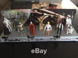 Vintage Star Wars Premier 12 Avec Mail Dans Présentoir Accessoires D'origine 1977