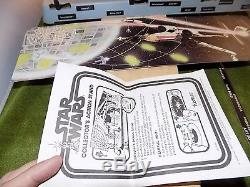 Vintage Star Wars Premier 12 Collector's Action Stand Unbuilt Avec Boîte (s4l 51)