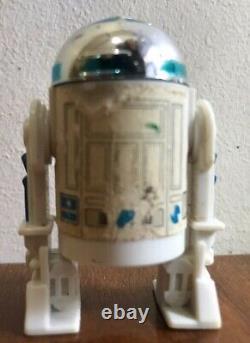 Vintage Star Wars R2-d2 Sabre De Lumière Pop-up -dernier 17 Repro Light Saber