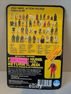 Vintage Star Wars Rotj Imperial Stormtrooper 1983 Kenner 77-back Moc Non Ouvert