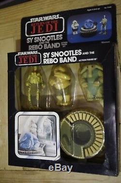 Vintage Star Wars Rotj Sy Snootles Et Le Groupe Rebo En Boîte