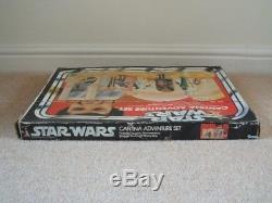 Vintage Star Wars Sears Creature Cantina Ensemble De Jeu 100% D'origine En Boîte 1977
