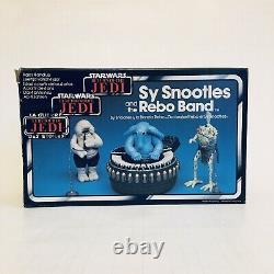 Vintage Star Wars Tri-logo Sy Snootles & The Rebo Band Mecanno 1983