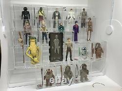 Vintage Star Wars Ukg Derniers 17 Bundle Complet Classés Individuellement Ukg85 Job Lot