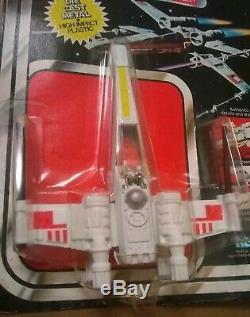 Vintage Star Wars X Wing Fighter De 21 Moulé Arrière Moc