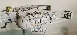 Vintage Star Wars Y-wing Fighter Original 1983 Et 2 Chiffres Free Repro Bombe / Instr