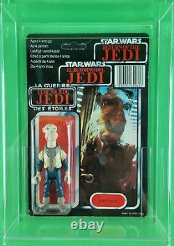 Vintage Star Wars Yak Visage Tri-logo (retour Du Jedi) Unpunched Ultra Rare