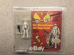 Vintage Star Wars Yps Hoth Stormtrooper Avec La Bande Dessinée Afa Ukg 80