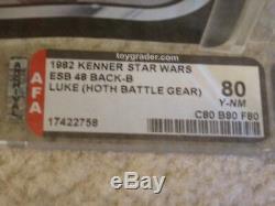 Vintage Wars 1982 Étoiles Kenner Afa 80 Skywalker Hoth Vitesse Luke 48 Esb Retour __gvirt_np_nn_nnps<__ Moc