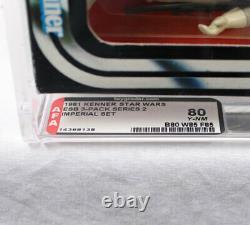Vintage Wars 3 Étoiles Esb-pack Imperial, Afa 80 (b80 W85 F85) # 14368138