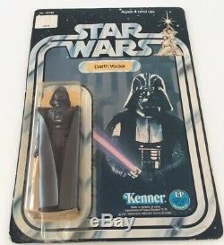 Vintage Wars Darth Vader Étoiles 12 Retour C Moc Unpunched Usine Sealed 1977 Cardée