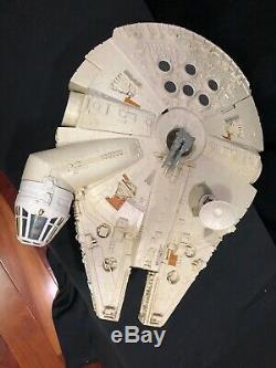 Vintage Wars Empire Sb Étoiles Millenium Falcon Coffret Kenner 1981 Près Complète