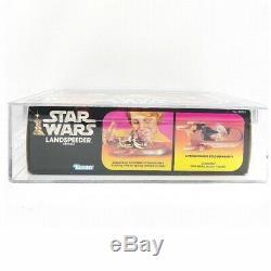 Vintage Wars Étoiles Boxed Landspeeder Véhicule Afa 85 Graded Misb Mint 1983