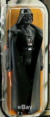 Vintage Wars Étoiles Darth Vader 1978 Figure 12 Retour B Moc Afa Graded 85 Kenner